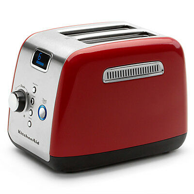 NEW KitchenAid KMT223 Empire Red Two Slice Toaster