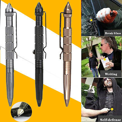 Tactical Multi-Function Pen Emergency Military Glass Breaker Outdoor Survival