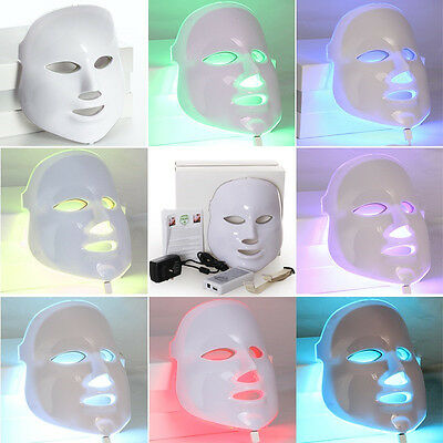 LM003P New 7 lights PDT Photon LED Facial Mask Skin Rejuvenation home use