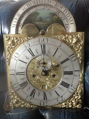 MAJOR SCHOlFIELD ROCHDALE LONGCASE CLOCK GEORGE lll