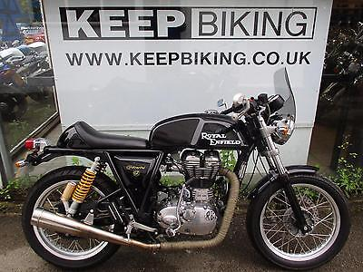2015 ROYAL ENFIELD CONTINENTAL GT  535cc  ONLY 4079 MILES. FULL SERVICE HISTORY