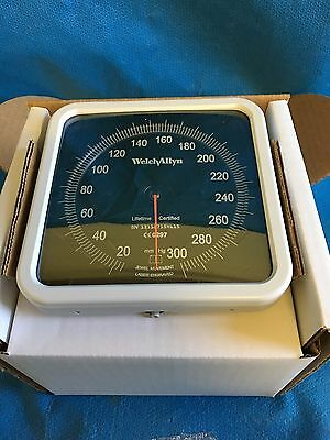 NEW! Welch Allyn 767 Wall Gage with Adult Cuff REF 7670-01 Blood Pressure