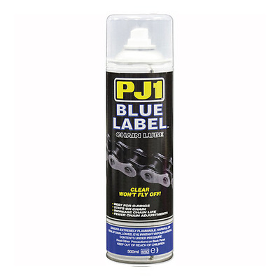 PJ1 Blue Label Motorcycle Motocross O – Ring Chain Lube  500ml WD40