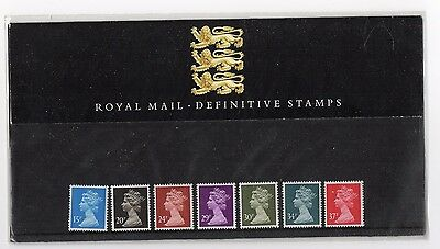 GB 1989 Machin 15p - 37p Definitive Presentation Pack No. 19 VGC stamps