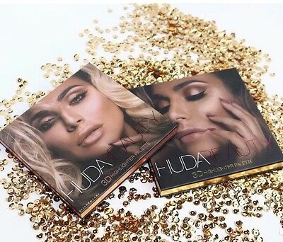 NEW Authentic Huda Beauty 3D Highlighter Palette - Choose Shade - Aus Stock SALE