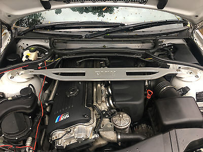 Bmw 3 Series E46 M3 Aluminum Front Strut Brace Bar Coupe Convertible
