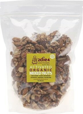 2Die4 Activated Organic Mixed Nuts Activated with Fresh Whey