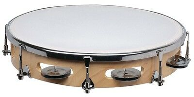 New GPTAT-8-1 8in Pro Tunable Tambourine 1X Row