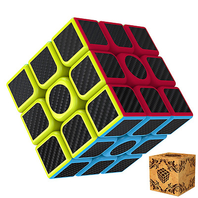 Magic Cube, Splaks Rubik's Cube 3x3x3 Smooth Speed Magic Cube Puzzle and