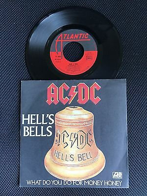 """AC/DC - Hells Bells - French 7"""" with great picture cover"""