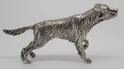 68g Vintage Solid Silver BIG Dog Miniature - Stamped - Made in Italy