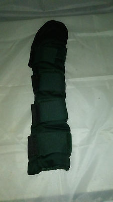 Bottle Green Padded Tail Guard