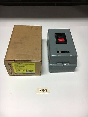 New Square D 2510MBG2 AC Manual Starter Series A Warranty! Fast Shipping!