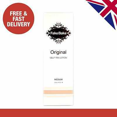 Fake Bake Original Self-Tan Lotion 170ml - Instant Fake Tan