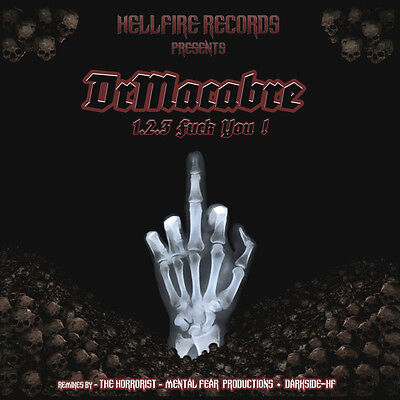 HELLFIRE HFR010 DR. MACABRE 1,2,3, Fuck You doomcore MINT