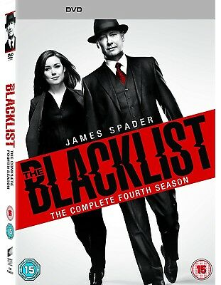 The Blacklist Season 4 Complete DVD Boxset New & Sealed UK Compatible
