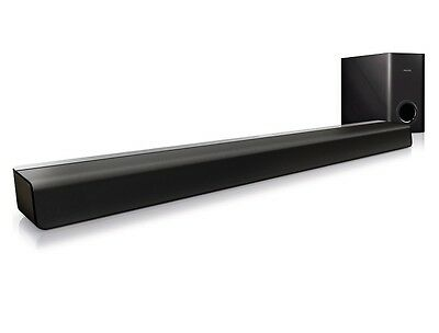Philips Css2123/05 Home Theatre Cinema 60W Soundbar Speaker Subwoofer System