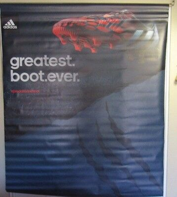 Adidas Predator Instinct Cleat Used 47X60 Greatest Boot Ever Display Sign