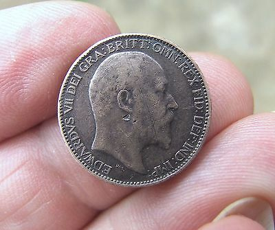 1909 EDWARD VII Farthing in very fine condition.