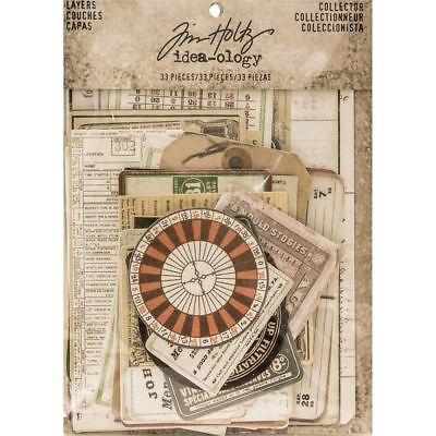 Tim Holtz Idea-ology Layers - Collector - TH93553