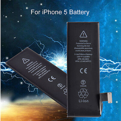 Replacement  For iPhone 5 OEM 1440mAh 3.8V Battery Built-in phone Battery