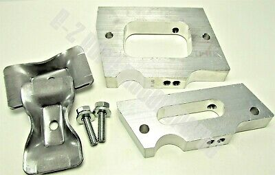 "Go Kart Racing Older Chassis - (2) Piece 15 Degree Engine Mount 2 7/8"" Spacing"