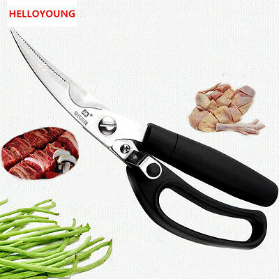Big kitchen scissors knife for meat stainless steel cutter shears cooking tools