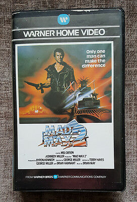 Video 2000 Format Film On Video Cassette - Mad Max 2 - Vintage Video - Untested