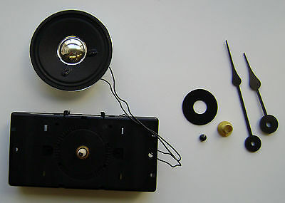 Hermle W2114 Quartz Clock Movement Includes Hands & Hardware  Made In Germany