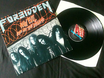 "Forbidden - Raw Evil - Live At The Dynamo  12"" UK  1989  VG+/EX  # Thrash Metal"