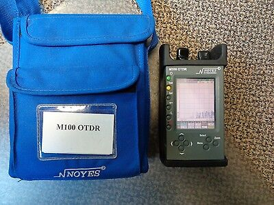 Noyes M100 OTDR with VFL