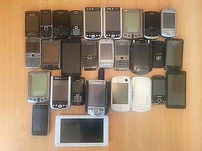 Mobile Phone Job Lot Bundle - Apple iPhone - Blackberry - Nokia - Tablet - HTC