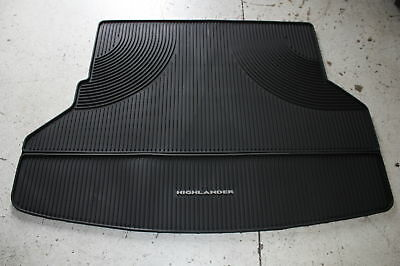 New Oem Toyota Highlander All Weather Cargo Mat 2008-