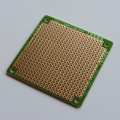 1 / 5 / 10 / 20 x 6cm x 6cm PCB Prototyping Circuit Board Perforated Stripboard