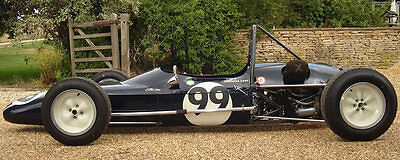 1964 Barnett Historic F3 Race Car With Fia Papers