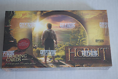 The Hobbit An Unexpected Journey Factory Sealed Hobby Box 24 Packs Auto Sketch??