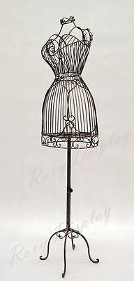 Metal Female Wire Form with Antique Metal Base #XY140076-TY