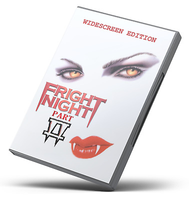 Fright Night Part 2 (DVD) Roddy McDowall  HQ-WS-5.1 ENGLISH 1988 sequel