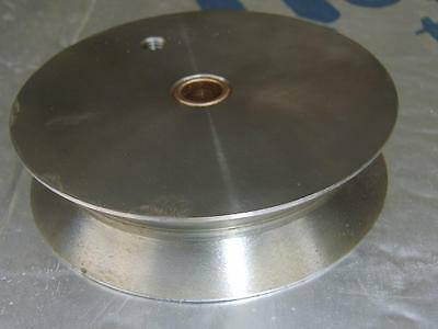 Pulley/Cable/Carriage wheel.  11cm OD x 12mm bore