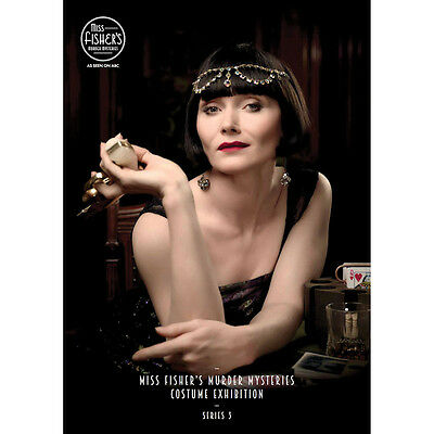 Miss Fisher's Murder Mysteries Costume Exhibit Catalog - Color Photos Book