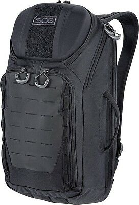 "SOG CP1003B Backpack TOC 20 Kodra 500D Nylon 20.1"" x 11"" x 7.5"" Black"