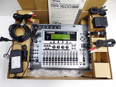 Boss BR-1600 CD Digital Recording Studio Machine 16 Multi Track 40GB HDD Used