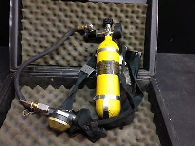 MSA Mine Safety Hip Air SCBA 5 minute
