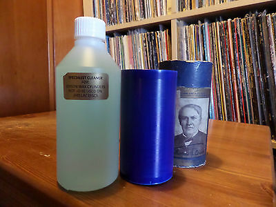 SPECIALIST CLEANING SOLUTION FOR EDISON CYLINDERS. 100ml BOTTLE.