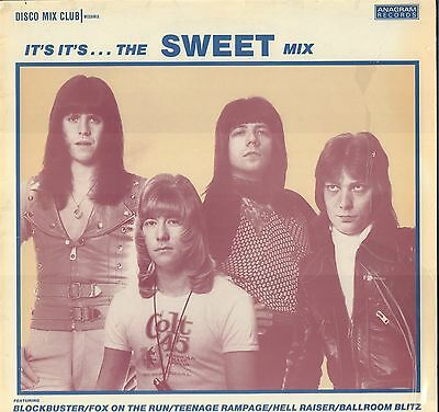 SWEET It's It's ...The Sweet Mix DISCO CLUB MIX Megamix FRANCE Picture Sleeve