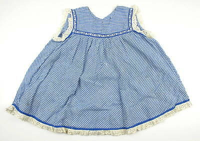 Vintage baby Girl  Cotton dress 1950s