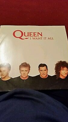 "Queen - I Want It All 12"" 1989 Ex/Ex Parlophone 12QUEEN10"