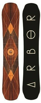 Arbor Wasteland 158 PREMIUM snowboard complete with Burton Cartel bindings.