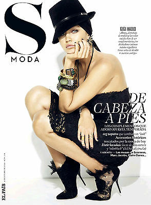 Gigi Hadid S Moda Spain October 2014 Cover Exclusive Pictures 10 Pages Not Bella