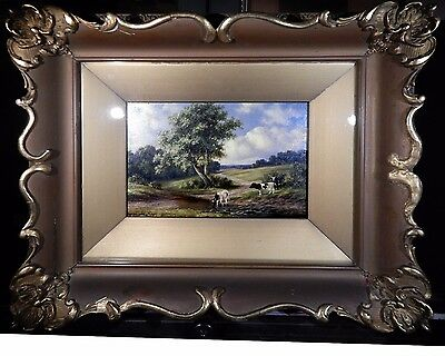 Henry Harold Vickers - vintage Canadian oil painting - listed artist